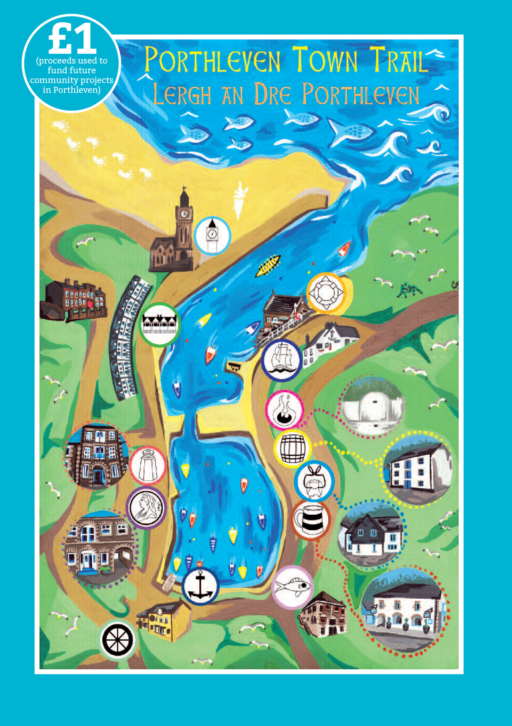Porthleven Town Trail front page